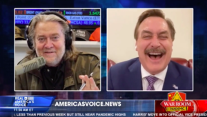 VIDEO: Mike Lindell Talks For An Hour On War Room – How The Left Is Trying To Destroy Him