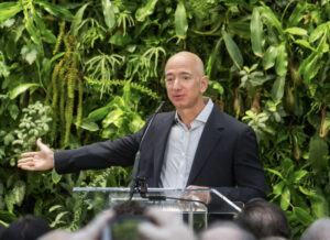 "Post-steal, Bezos admits vote-by-mail ""disenfranchises,"" in-person creates ""valid, fair"" Election"